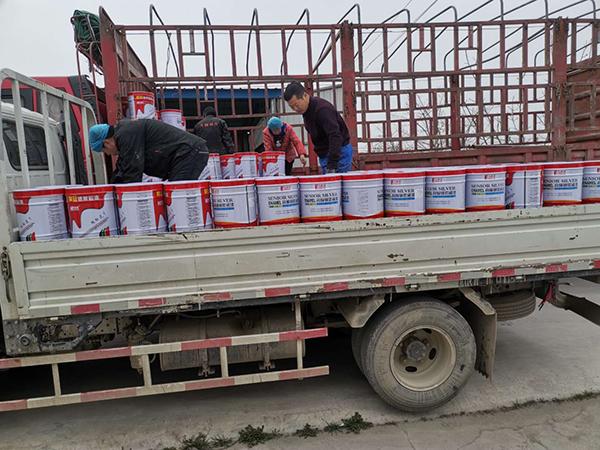 30吨货物发货现场